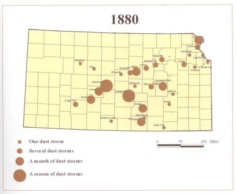 1880 Kansas Dust Storms