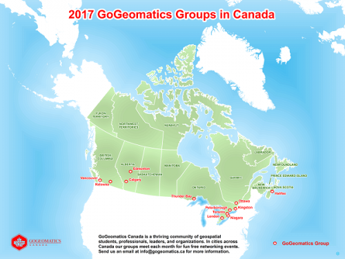 2017 GoGeomatics Groups in Canada