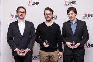 From left to right; Jake Surgenor; Kurt Hamlyn; Bennett Faulhammer