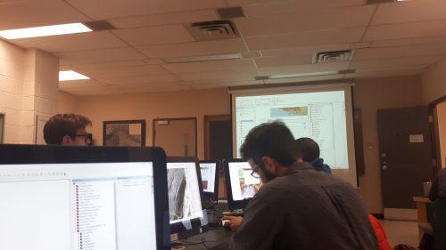 Studying Lab at UNB