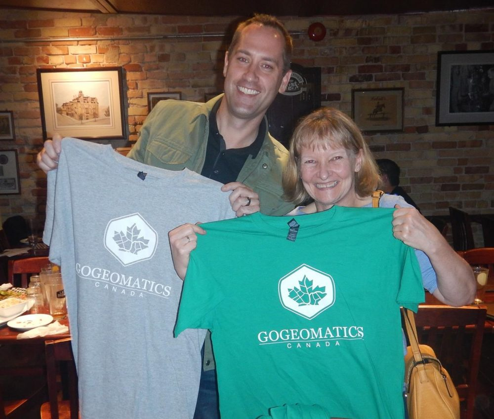 Event attendees Go Geomatics Kitchener