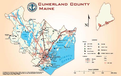 Cumberland County, Maine USA