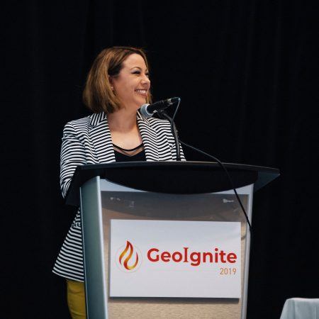 Amina Deiab at GeoIgnite 2019