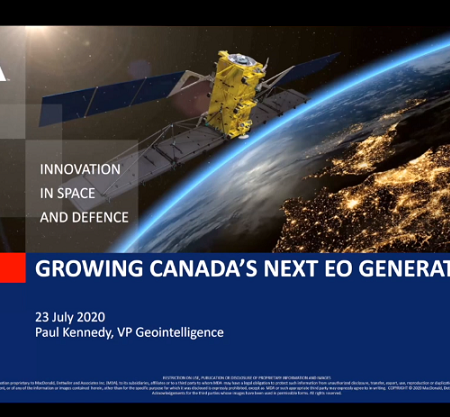 GeoIgnite 2020: Growing Canada's Next Earth Observation (EO) Generation