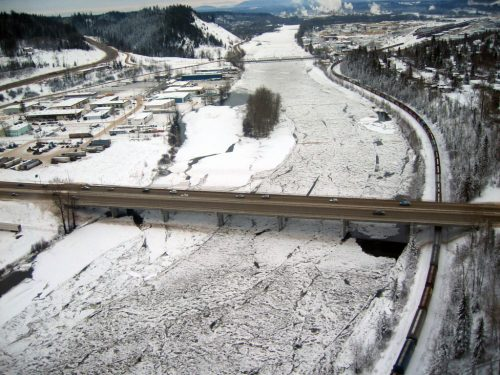 Lidar / GPS Terrain Modelling for Ice Jam Emergency Response