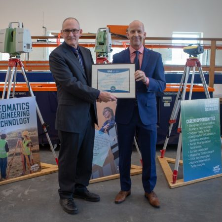 Lethbridge College's Geomatics program receives national accreditation