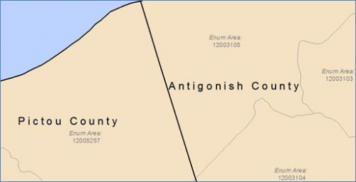 Original polygon data has county and sub-county linework