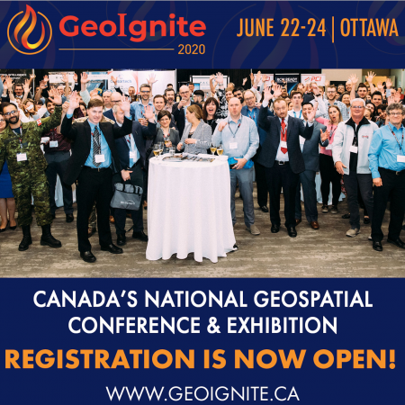 GeoIgnite 2020: Registration is now OPEN