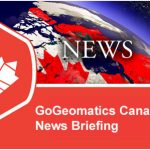 Your Canadian Geospatial Briefing for May 6th: Nadine Alameh at GeoIgnite; Drone Delivery Canada;  Inuvik Satellite Station; New Brunswick LiDAR data