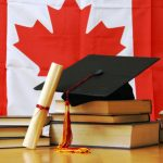 63879986 - a theme based image of canadian school and education.
