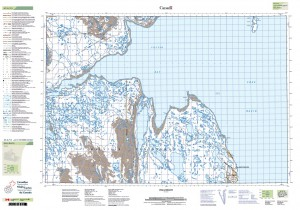 Cantopo map sheet