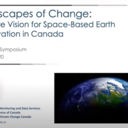 GeoIgnite 2020 Video: Space-Based Earth Observation in Canada – A Vision for the Future, David Harper