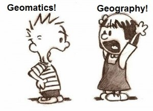 Geography or Geomatics?