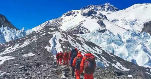 Surveying Mount Everest