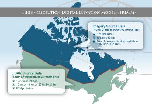 CCMEO's Elevation Data Revolution has Begun: Canada's New