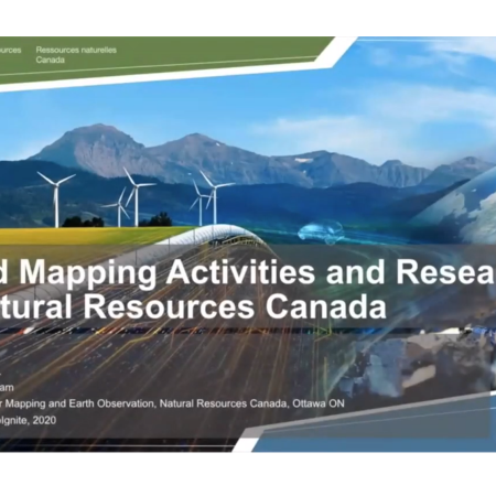 GeoIgnite 2020: Flood mapping activities & research at Natural Resources Canada