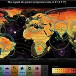 Four Degree Interactive Map: Met Office