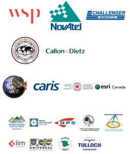 Sponsors for the National Geomatics Competition