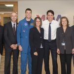 Justin Trudeau Views Final Phase of RADARSAT Constellation Mission (RCM) Construction